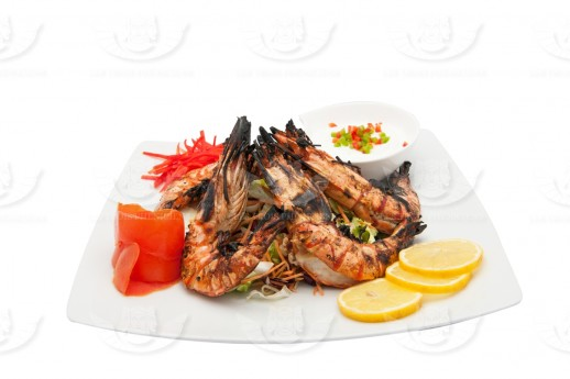 GRILLED GAMBAS